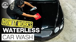 How Does Waterless Car Wash Work? | Black Paint Bentley Continental GT | Chemical Guys Car Care