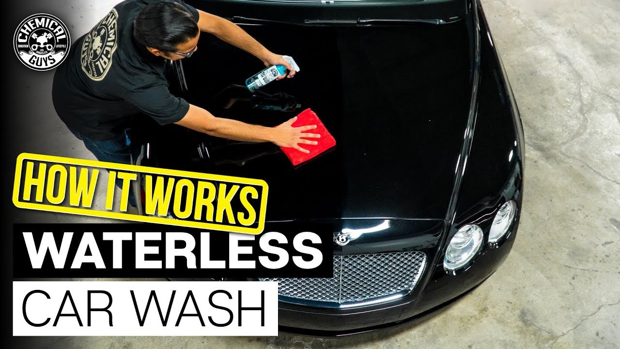how does waterless car wash work black paint bentley continental gt chemical guys car care. Black Bedroom Furniture Sets. Home Design Ideas