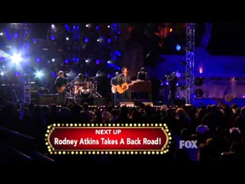 """David Nail """"Let It Rain"""" - American Country New Year's Eve LIVE 12/31/11"""