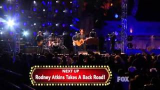 "David Nail ""Let It Rain"" - American Country New Year's Eve LIVE 12/31/11"