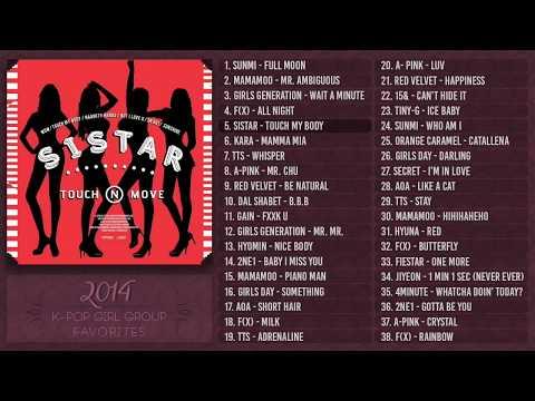 ♡ 2014 K-Pop Girl Groups | PLAYLIST ♡