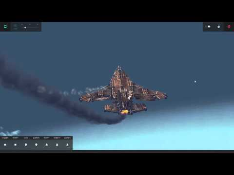 Su-34 Nuclear ATOMIC bomb in Besiege 1 Aircraftt Airplane Jet
