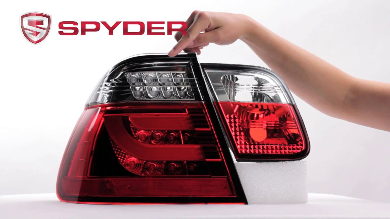 Spyder Auto Product Showcase 2002-2005 BMW E46 3-Series 4DR LED Light Bar Tail Light - YouTube & Spyder Auto Product Showcase: 2002-2005 BMW E46 3-Series 4DR LED ... azcodes.com