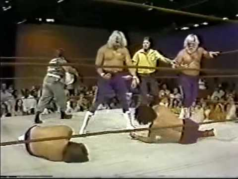 Wayne Farris, Larry Latham vs Bill Dundee, Tony Boyles - 2of2 (6-7-80) Memphis Wrestling