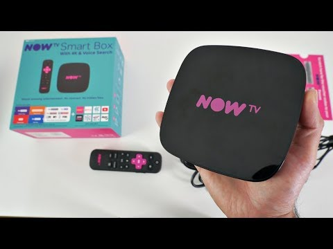 NOW TV 4K Smart Box with Voice Search - Any Good?