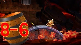 Donkey Kong Country Returns 3D: World 8-6 Moving Melters