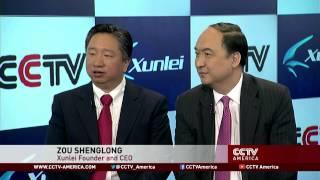 Sean Zou and Thomas Wu.on Xunlei's IPO