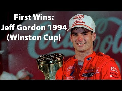 First Wins: Jeff Gordon 1994 (Winston Cup)