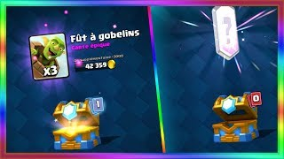 CLASH ROYALE PACK OPENING LEGENDAIRE DANS UN COFFRE DE CLAN