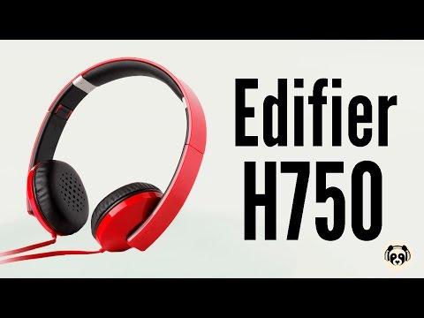 Видеообзор на Наушники Edifier H750