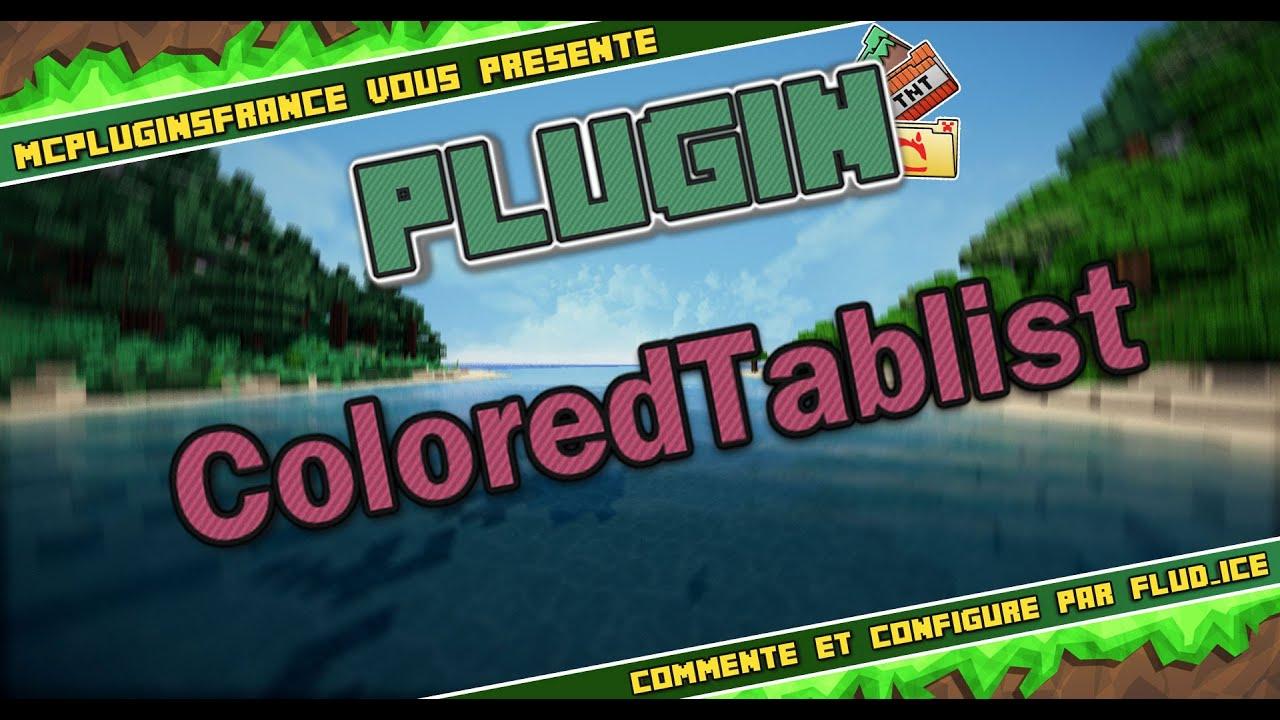 Overview - ColoredTablist - Bukkit Plugins - Projects - Bukkit