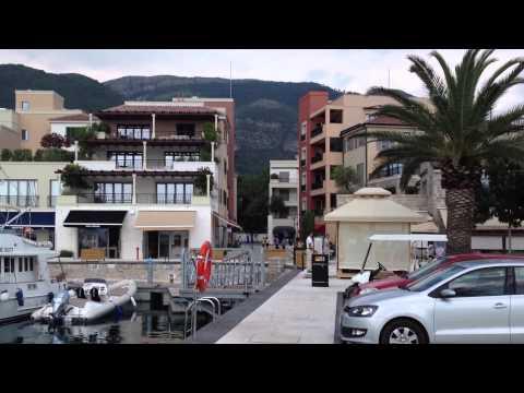Porto Montenegro boat marina