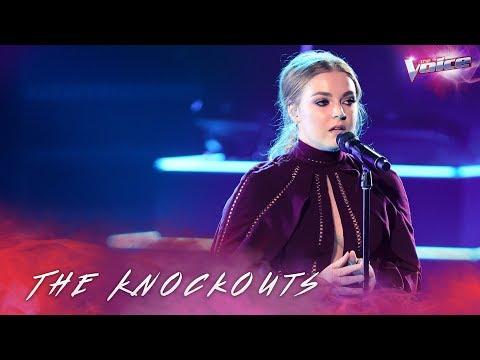 The Knockouts: Sally Skelton sings Skyscraper | The Voice Australia 2018