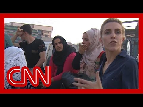 Fleeing civilians tell CNN they don't know where to go as Turkey attacks