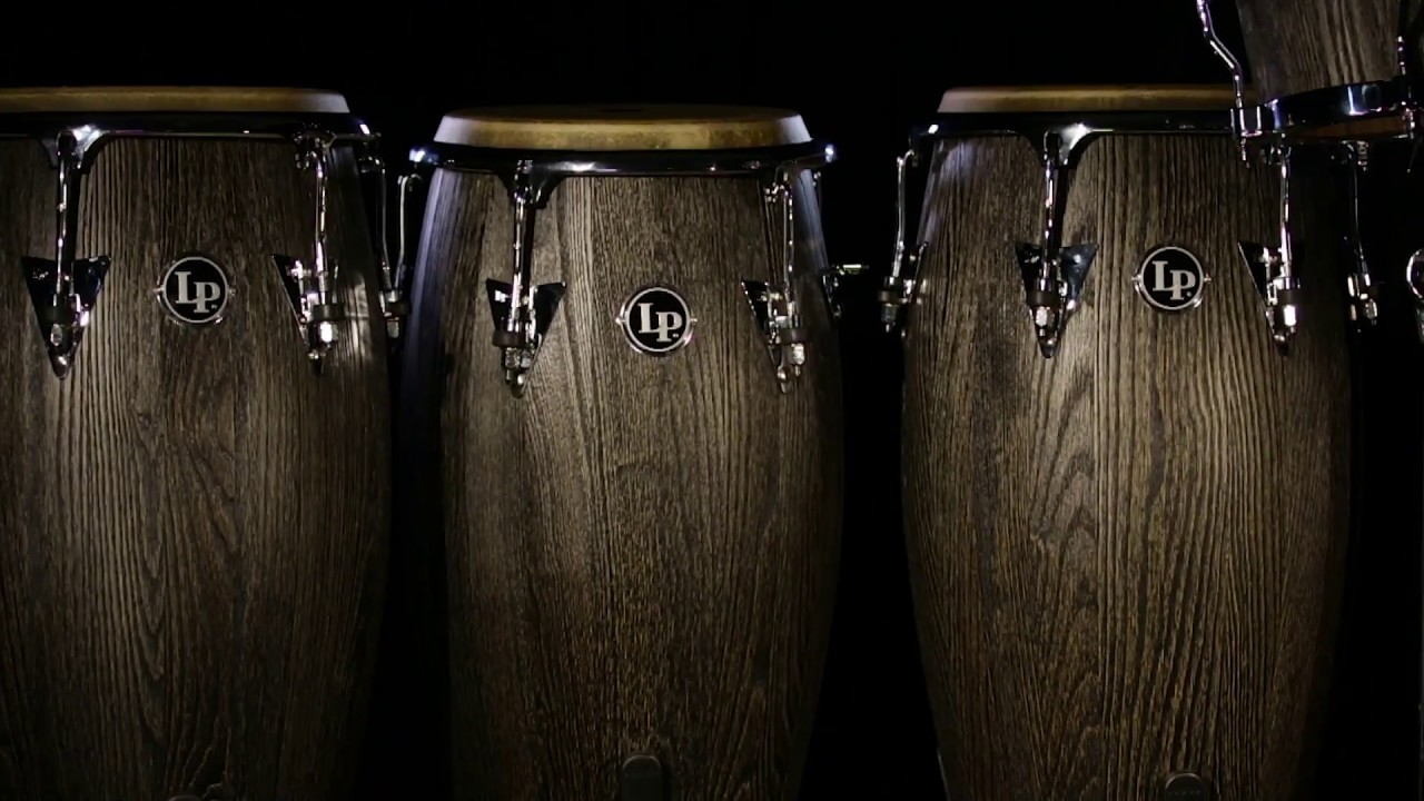latin percussion uptown series congas and bongos youtube. Black Bedroom Furniture Sets. Home Design Ideas