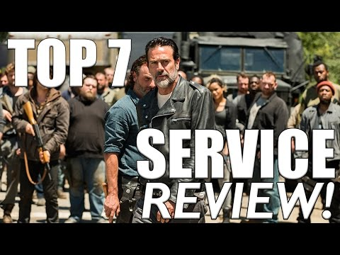 """The Walking Dead: Top 7 """"Service"""" (7x04 Spoiler Review)"""
