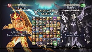 Saint Seiya: Brave Soldiers All Characters (Including DLC) [PS3]