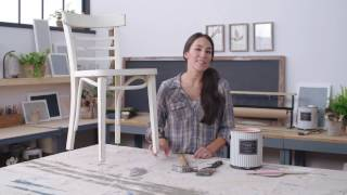 Magnolia Home by Joanna Gaines® Paint: Painting Legged Furniture