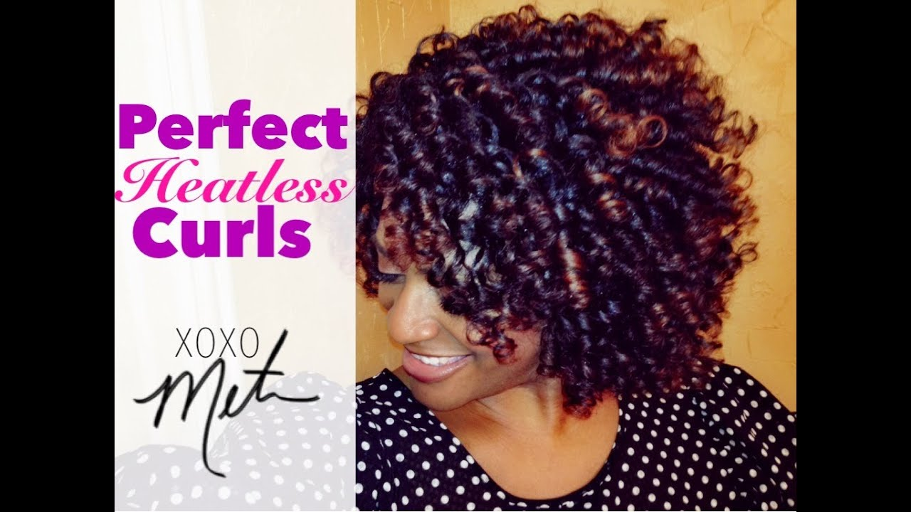 no heat styles natural black hair roller sets