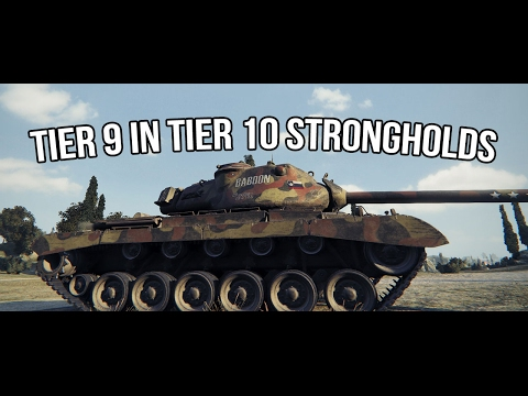 World of Tanks | Tier 9 in Tier 10 Strongholds