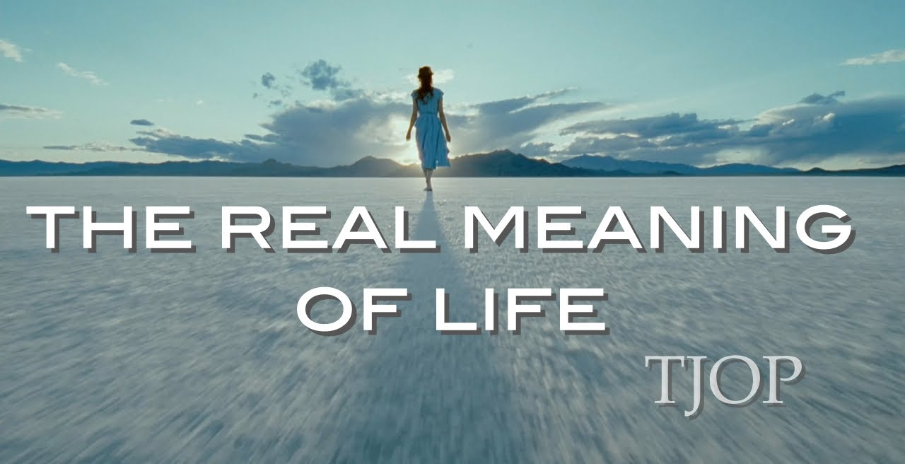The Real Meaning Of Life Youtube