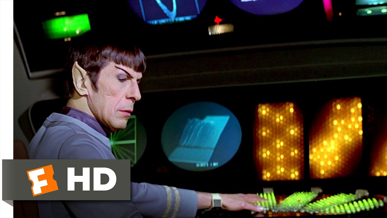 Star Trek: The Motion Picture (4/9) Movie CLIP - Attempting to Communicate (1979) HD