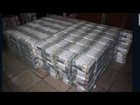 43 Million Dollars Found In A Nigerian Apartment in Lagos...