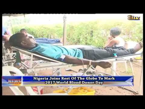 Nigeria joins rest of the globe to mark World Blood Donor Day
