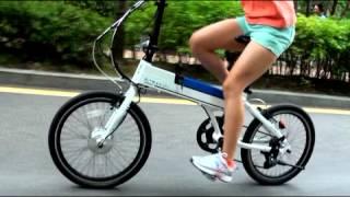 남산도 평지처럼 달릴 수 있다는 알톤 전기자전거!