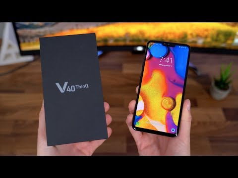 LG V40 ThinQ Reviews, Specs & Price Compare