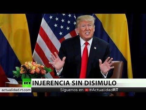 """""""EE.UU. ya no oculta su injerencia en Venezuela"""""""