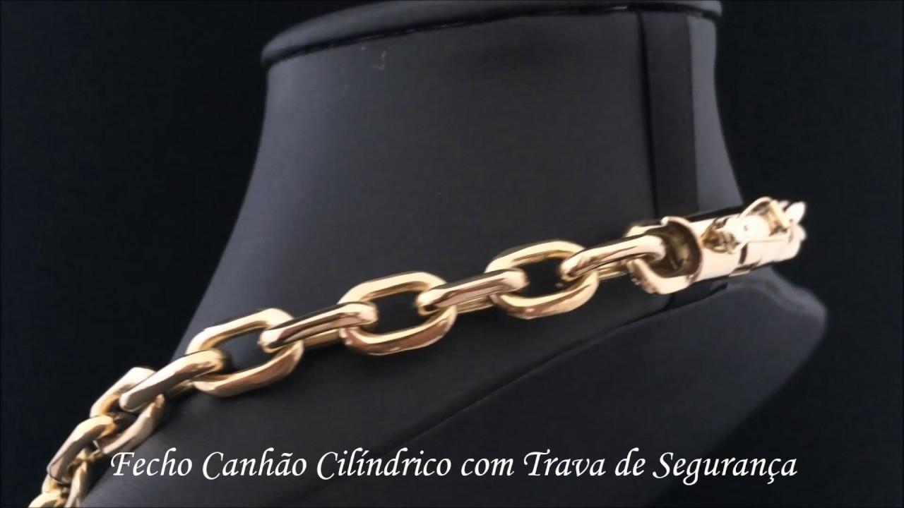 3b41ef1902f Don Joalheria - Corrente Cartier em Ouro 18k 750 155 Gramas Maciça