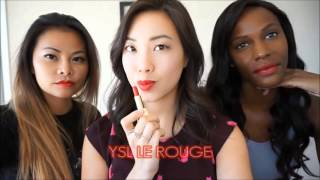 Sephora Favorites: Give Me More Lip Swatches | 15 colors | 3 Skintones (Holiday 2015)