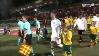 Portugal vs Lithuania 5-1 (Cristiano Ronaldo Score four Goals) All goals Highlights