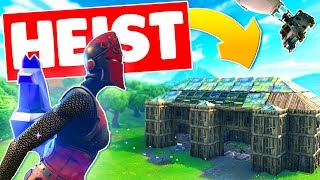 BUILDING A VBUCK BANK AND WINNING In Fortnite Battle Royale
