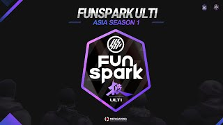 Funspark ULTI 2021: Asia S1 | Group stage | CM vs NG | MN cast