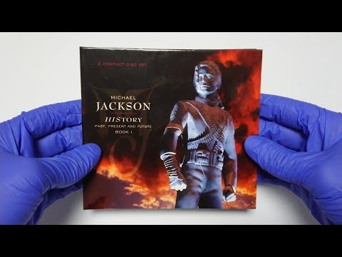Michael Jackson - HIStory: Past, Present and Future, Book I Digipack 2013 Unboxing 4K | MJ Unboxing