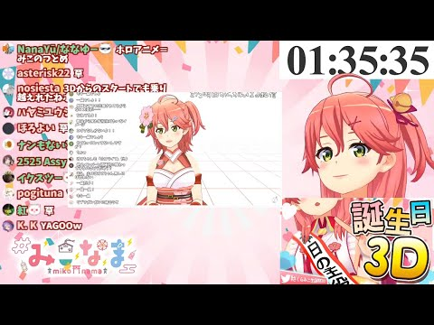 Sakura Miko Watches Her First Video And Special Stream (Hololive)