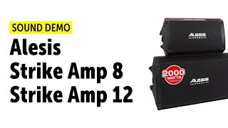 Alesis | Strike Amp 8 & 12 | for E-Drum | Sound Demo
