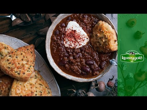 Chef Clodagh McKenna's Chocolate Chili Beef & Jalapeño Cheese Scones