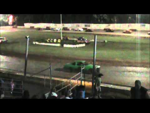 4 Cylinder racing at River City Speedway #6 7/7/12 (Main) View B