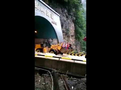 Crazy Storm In China Caused Mountain Roads To Be Rivers