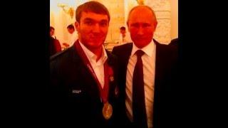 Апти Аухадов поздравляет Купинских тяжелоатлетов с Новым годом.