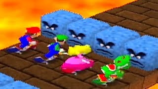 Mario Party 1 - All Racing Minigames