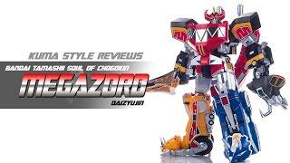 Toy Review: Bandai Soul of Chogokin GX-72 Megazord (Daizyujin)