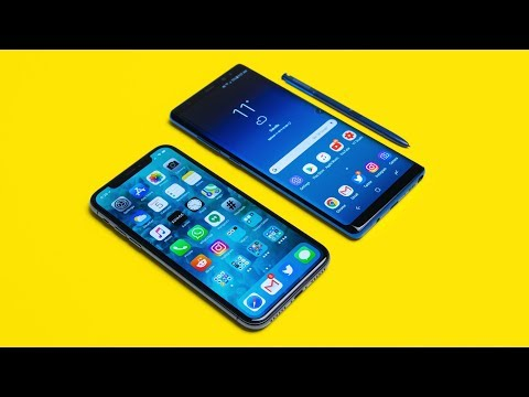 Download Youtube: iPhone X vs Note 8 - $1000 iPhone vs $1000 Android Comparison!