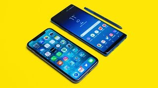 iPhone X vs Note 8 - $1000 iPhone vs $1000 Android Comparison!