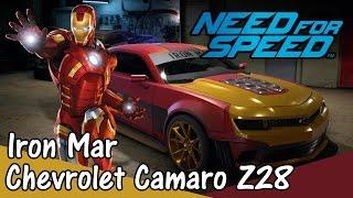 Iron Man Marvel | Chevrolet Camaro Z28 | Need For Speed