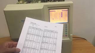 Огляд гематологічного аналізатора SYSMEX KX 21