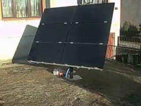 Nowość Solar tracker 0,5kW -jedna oś, Bytów - YouTube TM71
